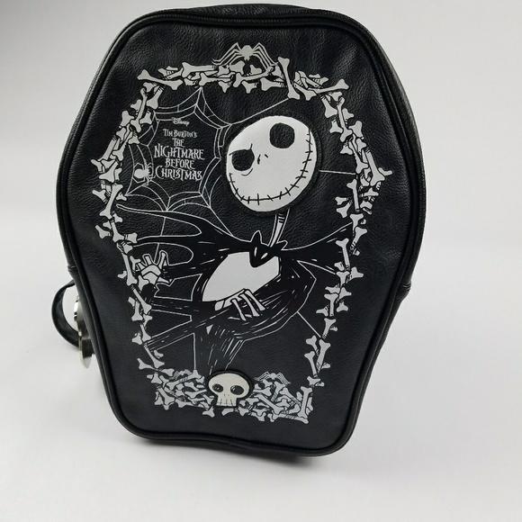 47bbd6fc02 Loungefly Handbags - Loungefly Disney Jack Skellington backpack purse
